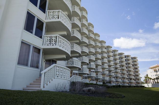 Relax on the beautiful half-moon shaped balcony.