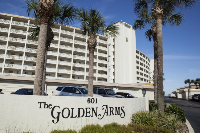 The Golden Arms Condominiums are a great place to vacation or live year-round!