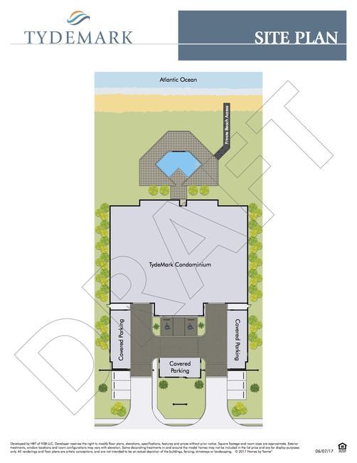 Tydemark site plan
