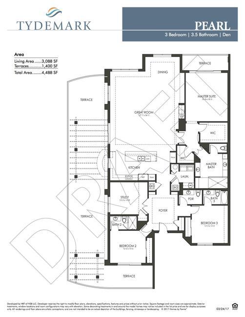 Pearl floor plan — view layout below