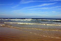 New Smyrna Beach sand