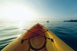 Kayaking in NSB